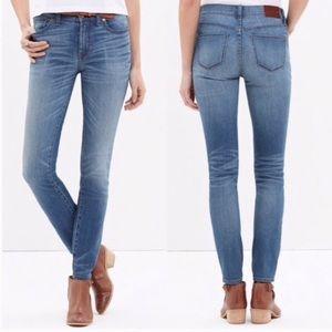 Madewell High Riser Skinny Jean in Thom Wash